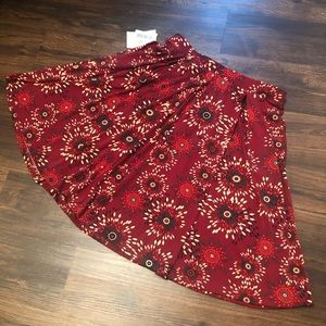 Beautiful Maddison LuLaRoe Skirt Fall Colors